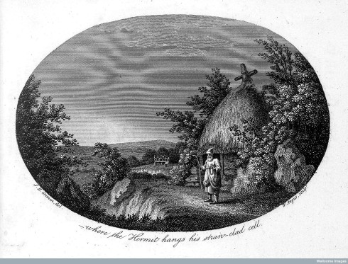 Front piece from Gilbert White's Natural History of Selborne, first published in 1789.