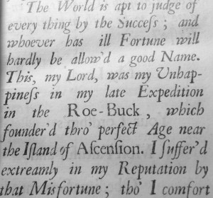 Dampier 1703 preface