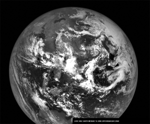 View of Earth from the Lunar Reconnaissan ce Orbiting Camera NASA/GSFC/Arizona State University