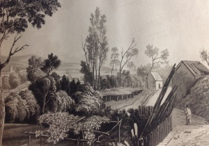 View from Maria Graham's house. Bodleian libraries, Oxford,4° R 56 Jur.